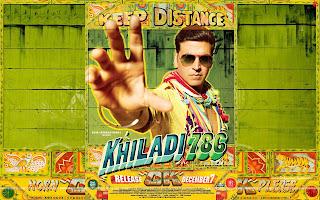 Khiladi 786 HD Wallpaper Starring Akshay Kumar