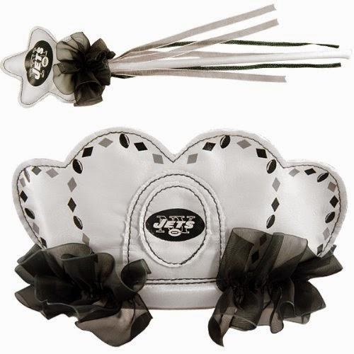 New York Jets NFL Princess Tiara & Wand Set