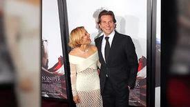 Sienna Miller et Bradley Cooper sont réunis sur le tapis rouge de la première d'American Sniper