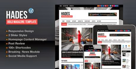 Hades Bold Magazine Newspaper Wordpress-bwtemplate blogs