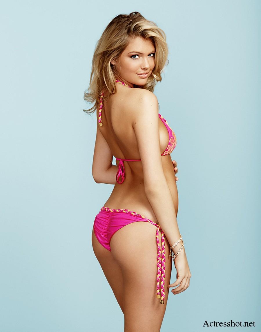 kate upton bikini topless