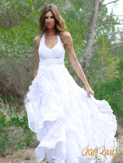 Vestidos de boda ibicenca