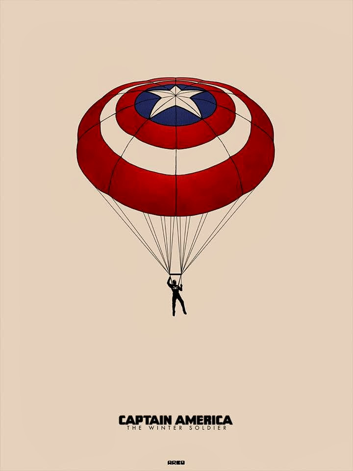 Fashion and Action: Captain America: Winter Soldier Poster by Matt ...