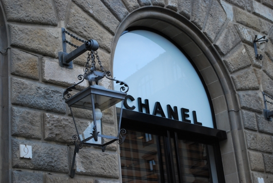 Schaufenster von Chanel