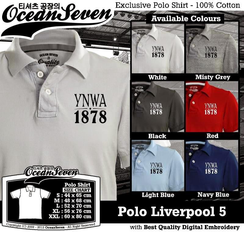 Kaos Polo Liverpool 5