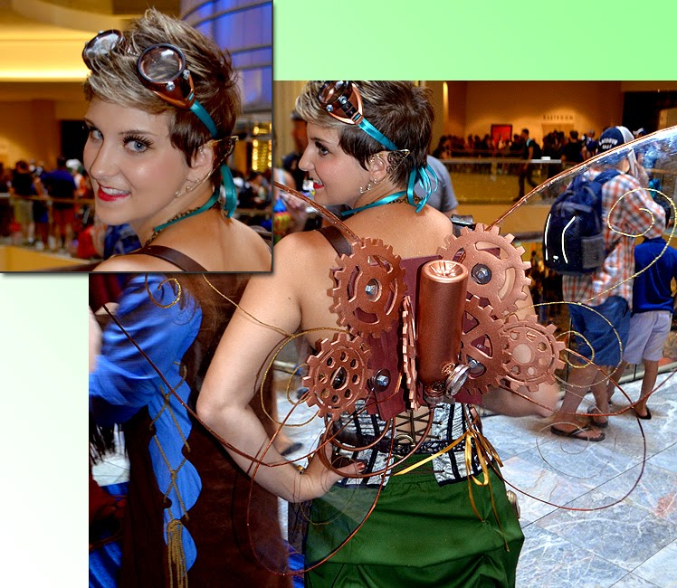 Dragon Con 2014 Cosplay, Steampunk Fairy