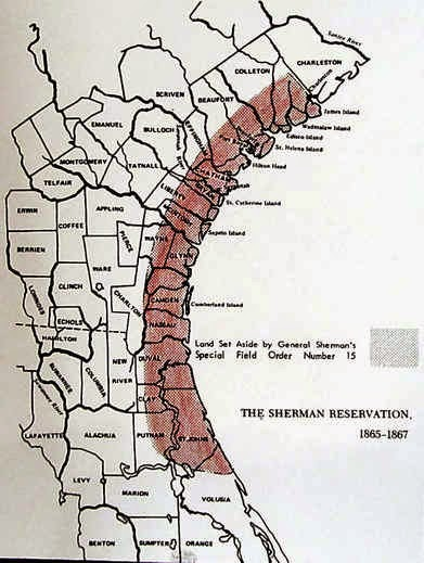 In Deeds The Sherman Reservation Map