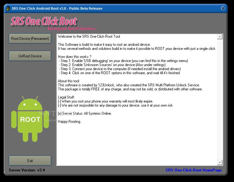 ထိုင္းေရာက္ITလူငယ္မ်ား: SRS One Click Root for Android Phone