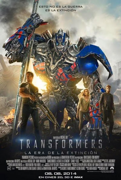 Transformers: La era de la extinción (2014)