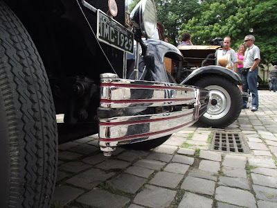 pára-choque de um Chevrolet 1929