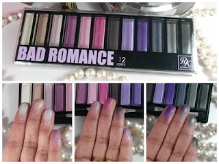 Paleta 12 cores Bad Romance Ruby Kisses da Kiss New York