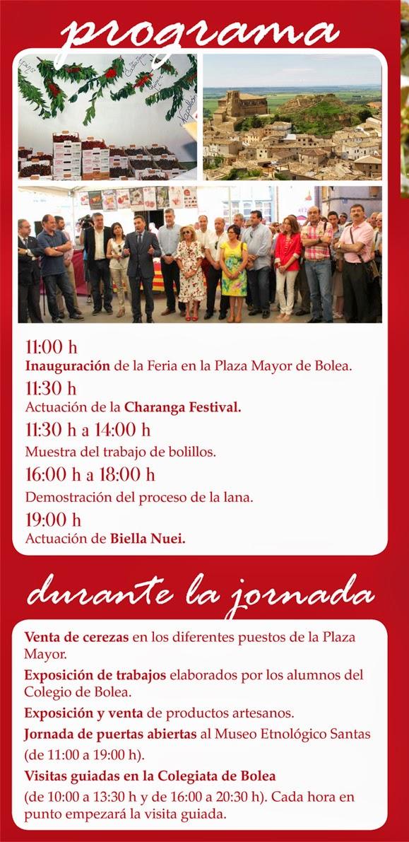 Feria de la cereza de bolea la magia de huesca - Casa rufino bolea ...