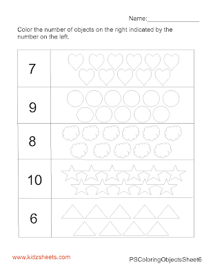 Free Printable Preschool Counting Worksheets, Free Worksheets, Kids Maths Worksheets, Maths Worksheets, Preschool Counting Worksheets, Counting, Preschool, Kids Counting, Coloring Worksheets, Kids Coloring, Coloring Worksheets