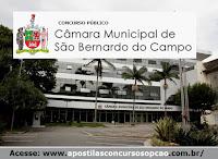 Apostila Câmara Municipal (CSBC) concurso São Bernardo - Técnico Legislativo