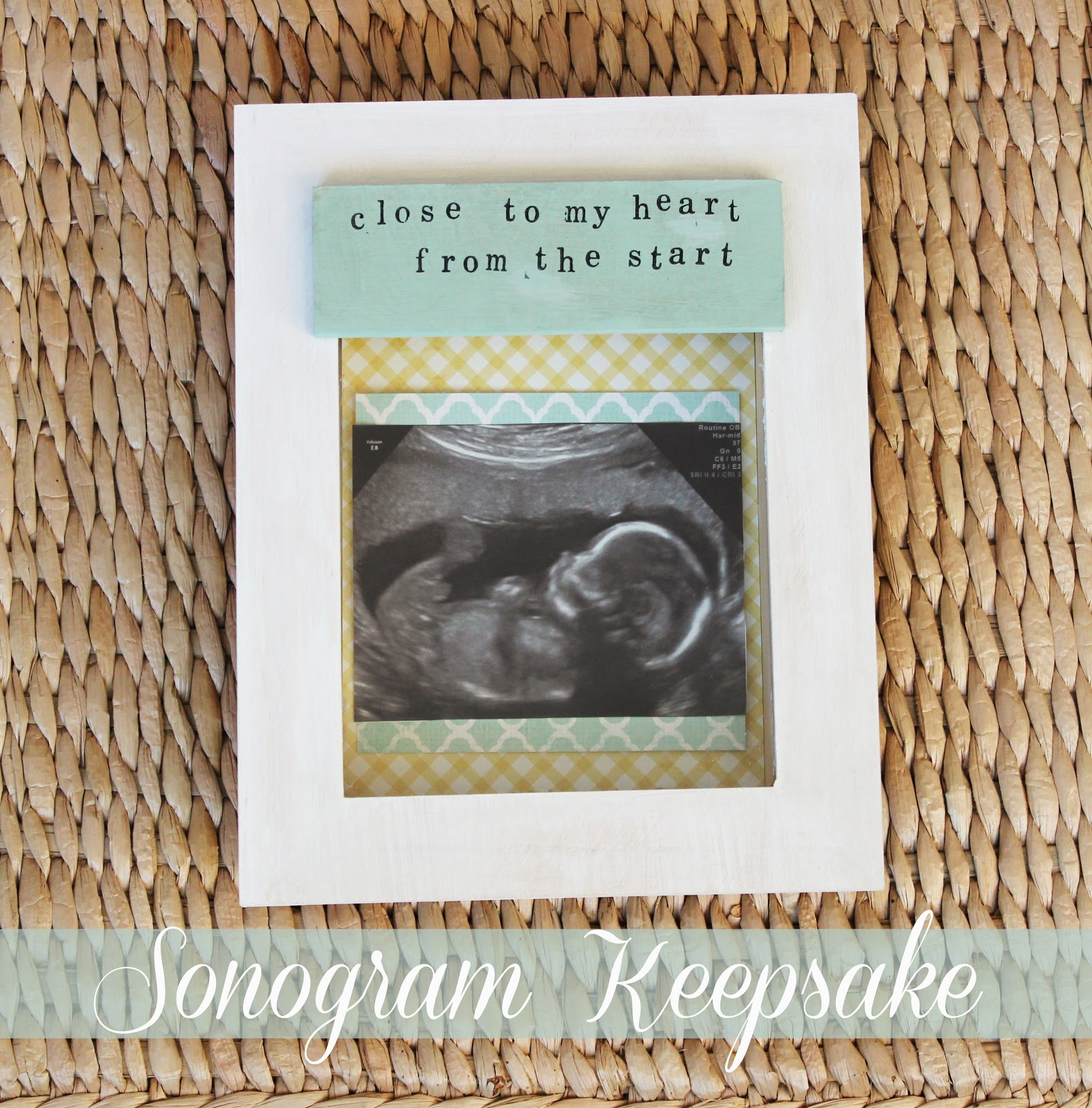 DIY-sonogram-keepsake-shadow-box