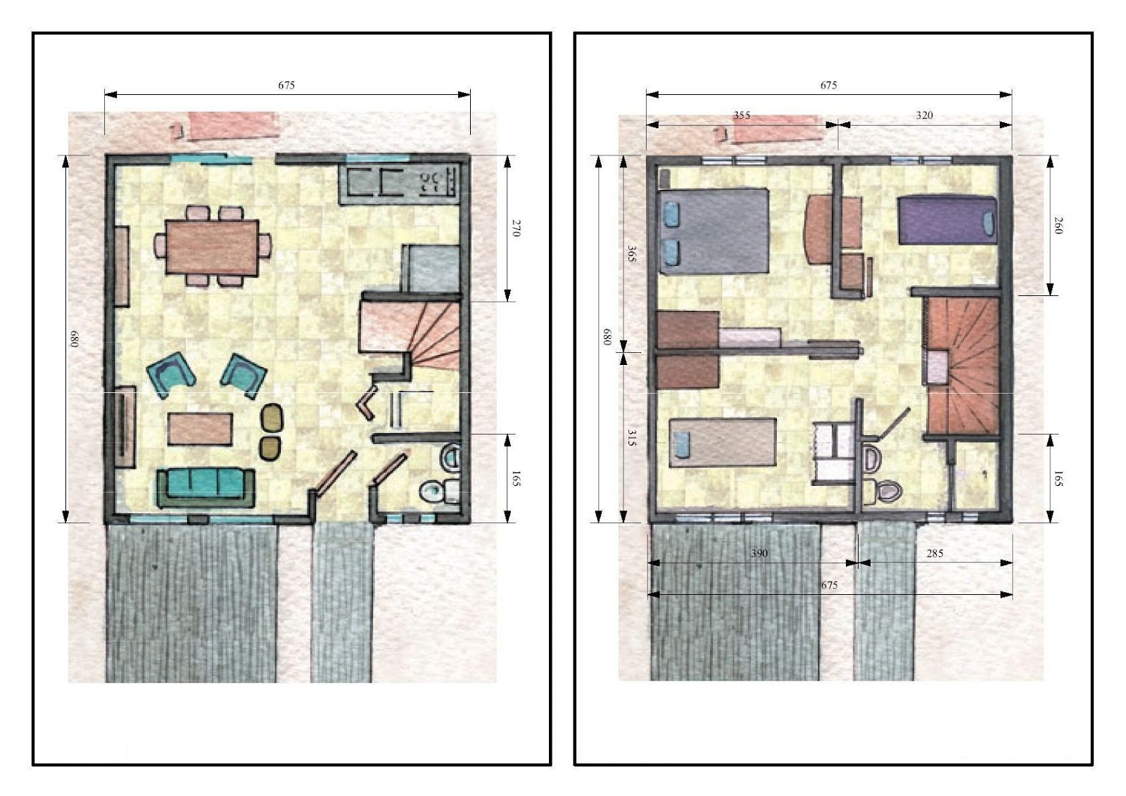 planos de casas modelos y dise os de casas planos On planos arquitectonicos de casas de dos plantas