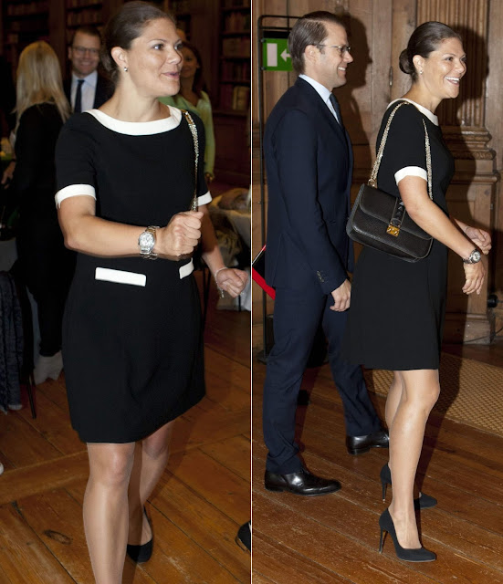 Pregnant Crown Princess Victoria and Prince Daniel attended a workshop with Professor Tina Seelig of Stanford University