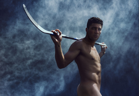 ESPN 2013 Body Issue Hockey Player Naked