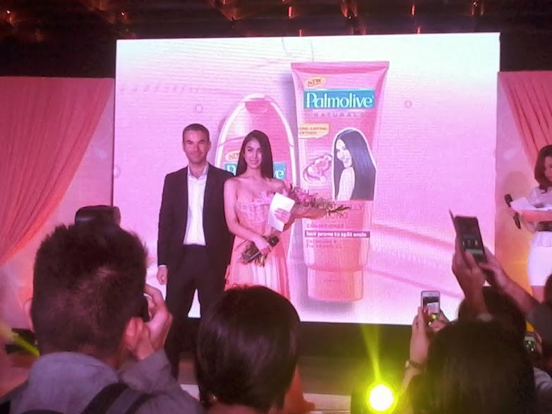 palmolive shampoo endorser