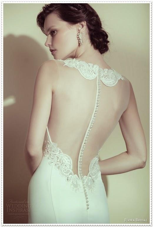 Brautkleider Kollektion 2015 von Flora Bridal