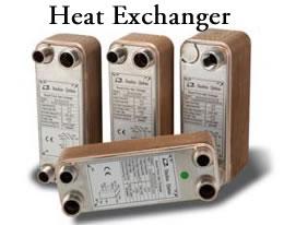 heat exchanger radiant floor rainwater