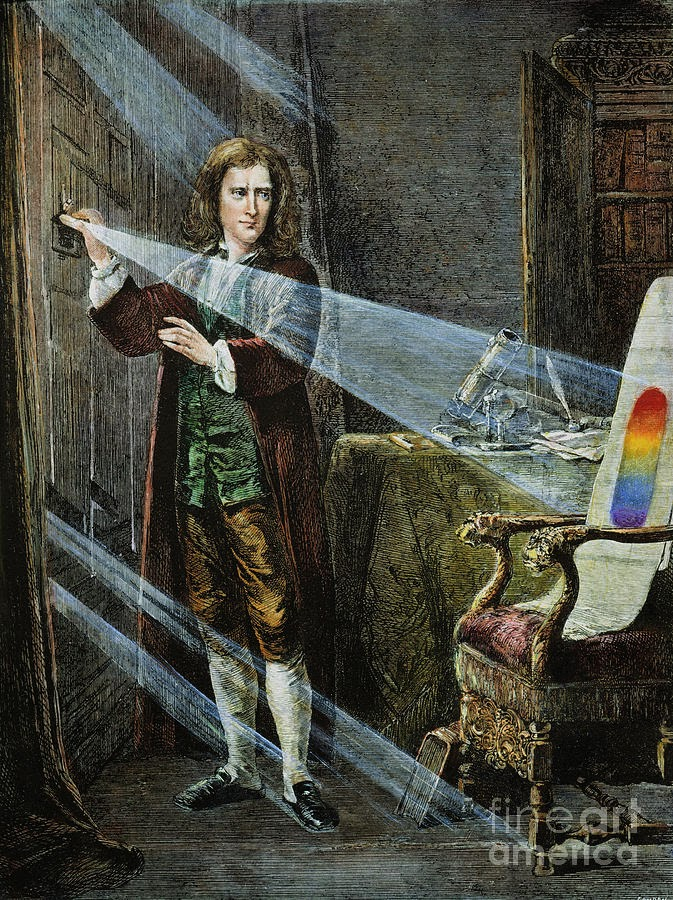 sir isaac newton was born in Isaac newton was born in 1642 in a manor house in lincolnshire, england his  father had died two months before his birth when newton was.