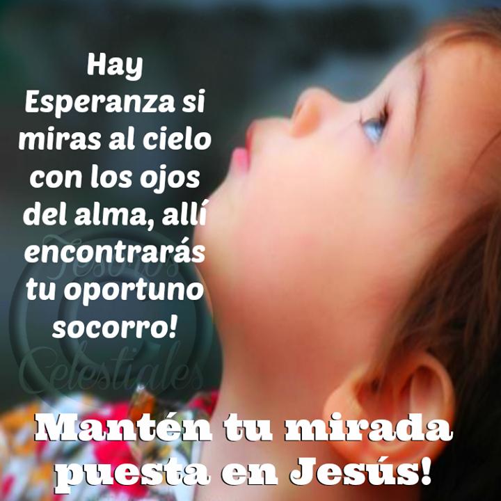 Mantén tu mirada puesta en Jesús