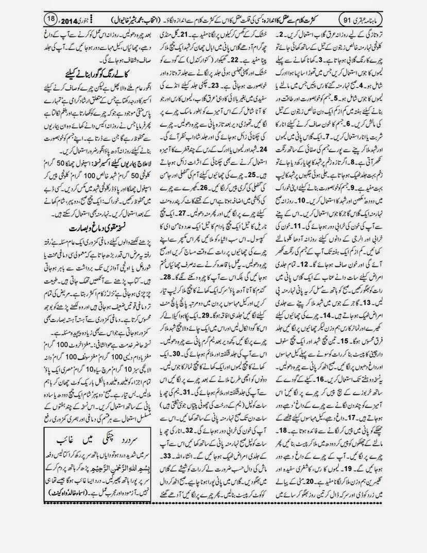 page 18 ubqari january 2014