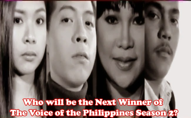 The Voice of the Philippines Season 2 Grand Finale Rence, Leah, Alisah and Jason Performance March 1, 2015