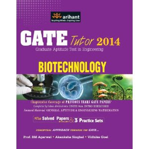 Top 5 eBooks for BioTechnology Engineering for GATE 2014