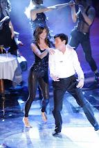 Barefoot Celebrities Elisabetta Canalis Dancing
