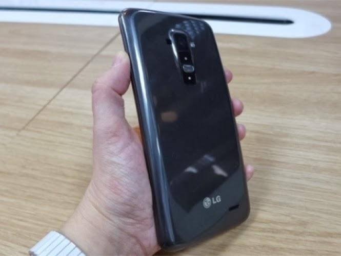 Smartphone G Flex de tela curva da LG