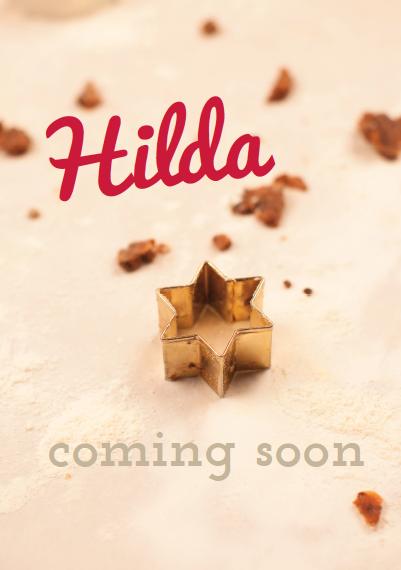 Coming Soon! Das Blogger-Plätzchenmagazin HILDA