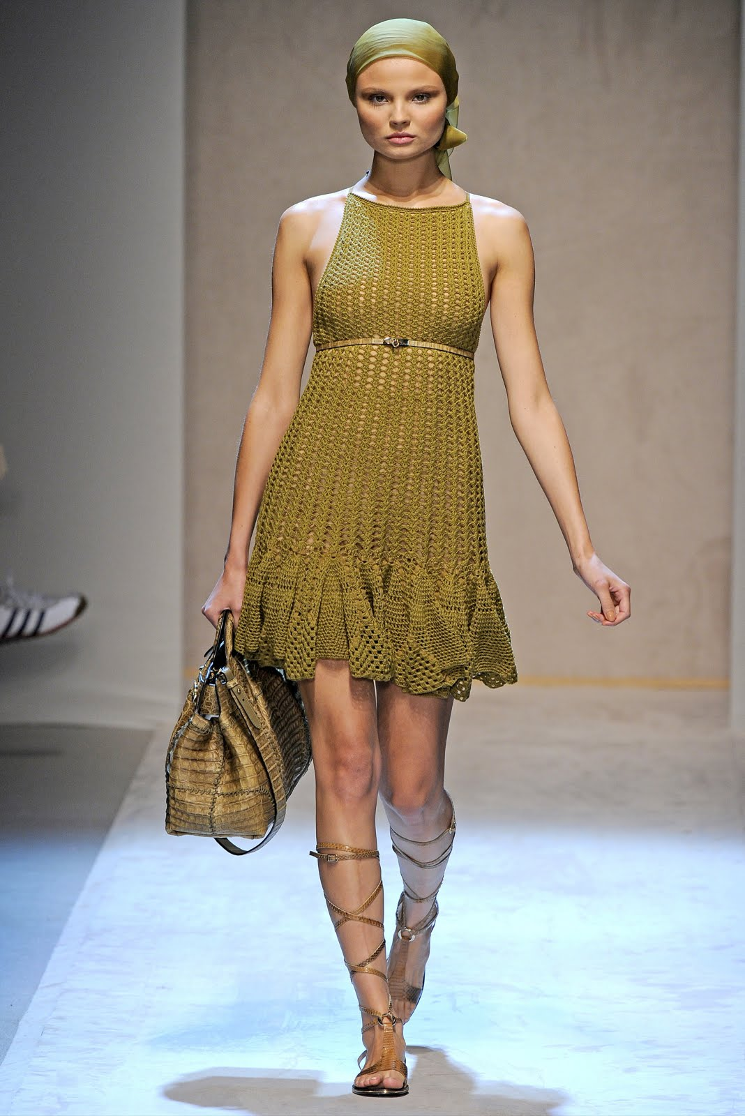 Вязание юбки крючком подиум