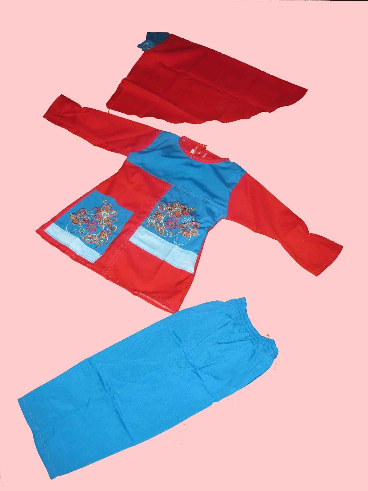 Seragam Baju Muslim Seragam Paud Tk Model Stelan Celana