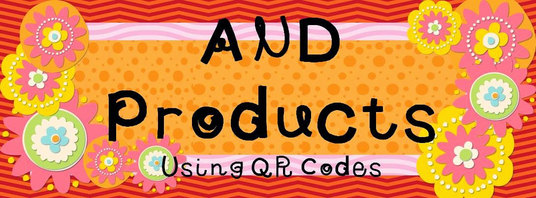 Products that use QR codes