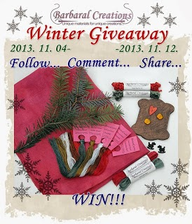 Barbara's Winter Giveaway
