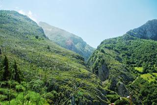Vista del desfiladero de La Estrechura