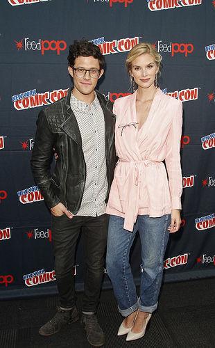 Stitchers stars Kyle Harris and Emma Ishta at New York Comic Con