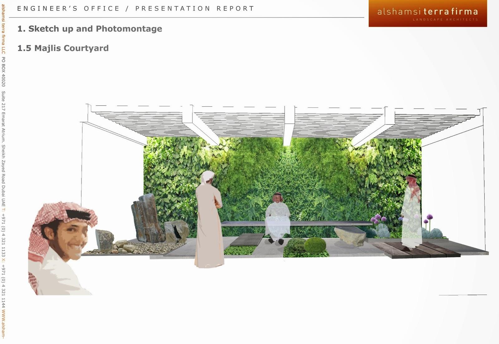 Landscape Architecture Portfolio Design - Viewing Gallery