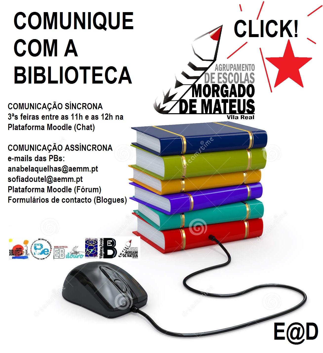 Comunicar com a Biblioteca
