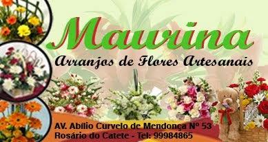 MAURINA - Arranjos de Flores Artesanais - ROSÁRIO