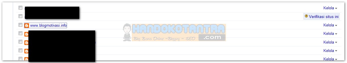setting redirect di Google Webmaster Tools