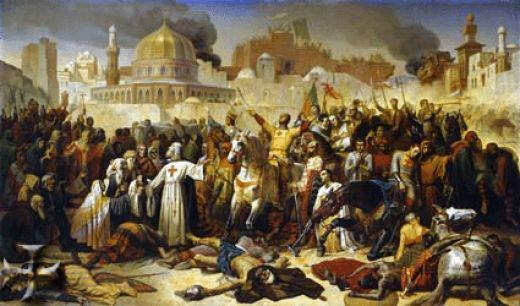 the first christian crusade four accounts The real history of the crusades  an attempt to turn back or defend against muslim conquests of christian lands  days of the first crusade in 1095, a ragtag .