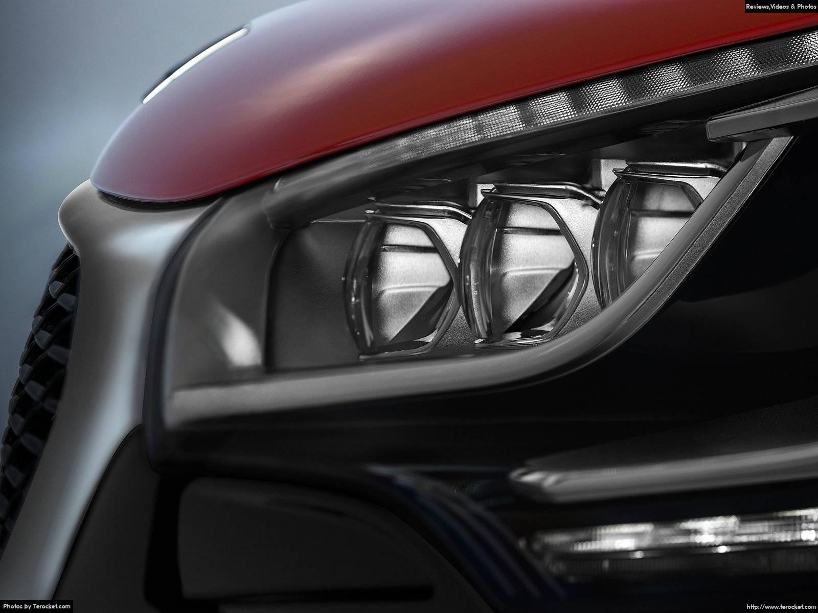 Hình ảnh xe ô tô Citroen DS4 Crossback 2016 & nội ngoại thất