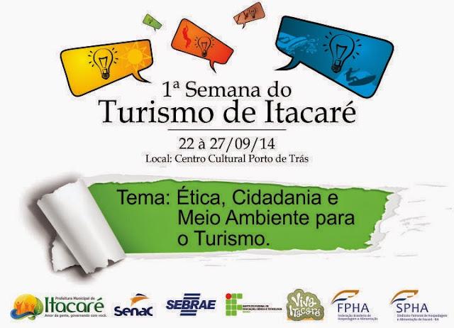 Começa nesta segunda a 1ª Semana do Turismo de Itacaré.