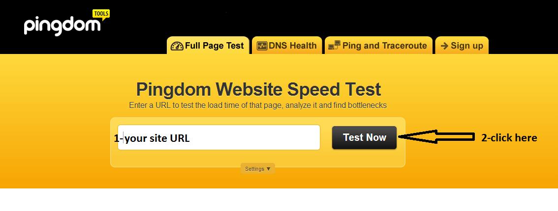 Speedd Test