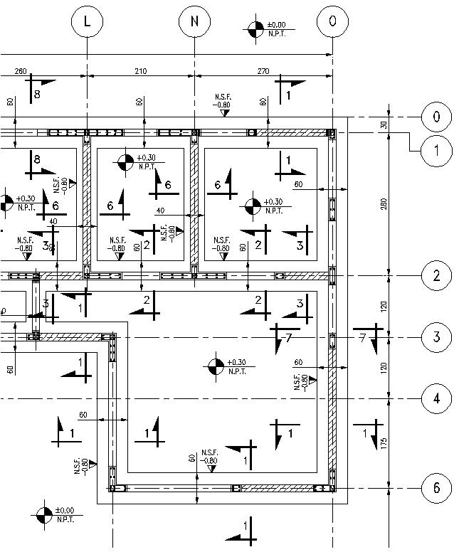 Ipa2201 interpretacion de planos planos estructura for Planos de estructuras