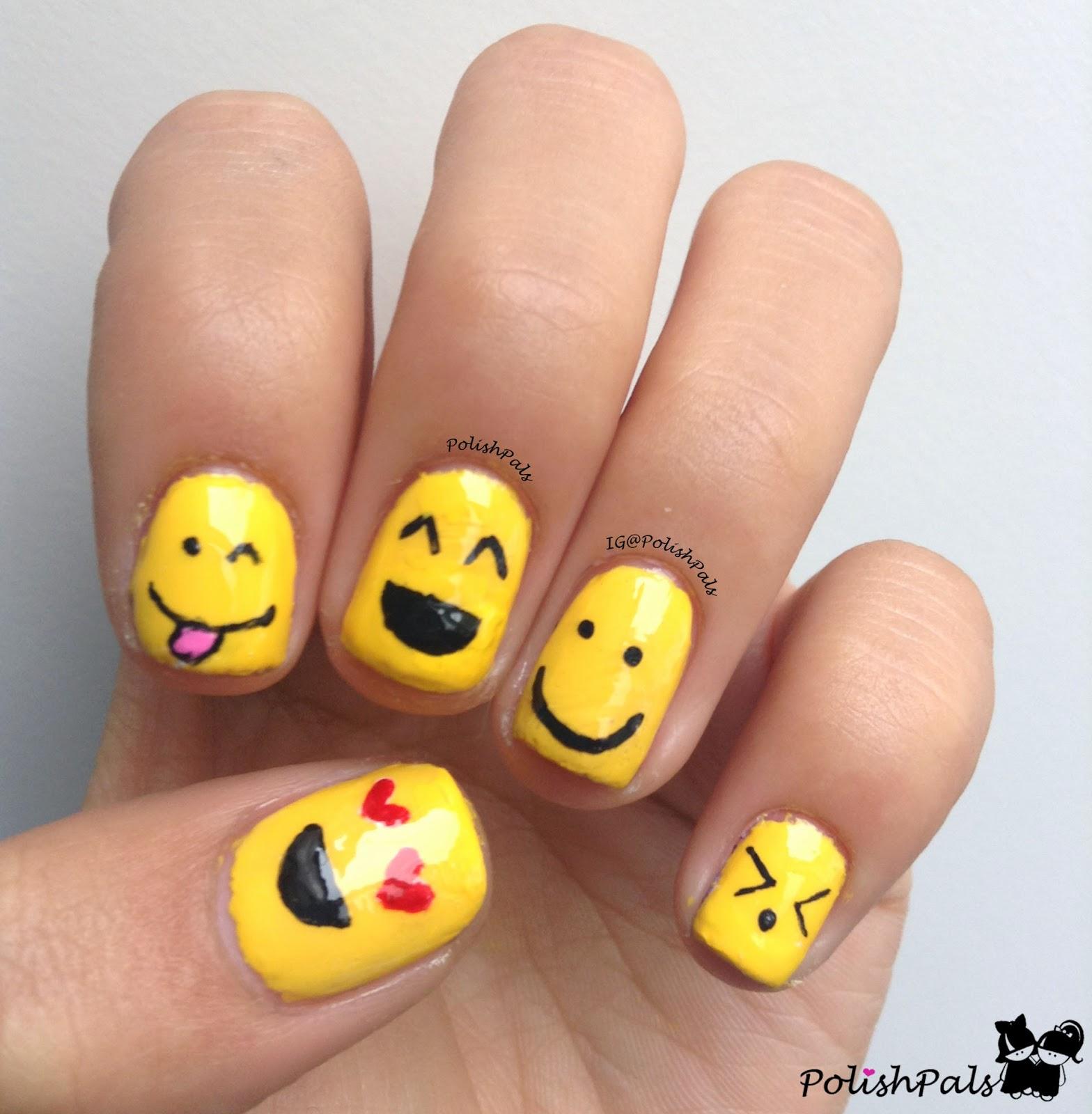 Emoticon Nail Polish To Bend Light