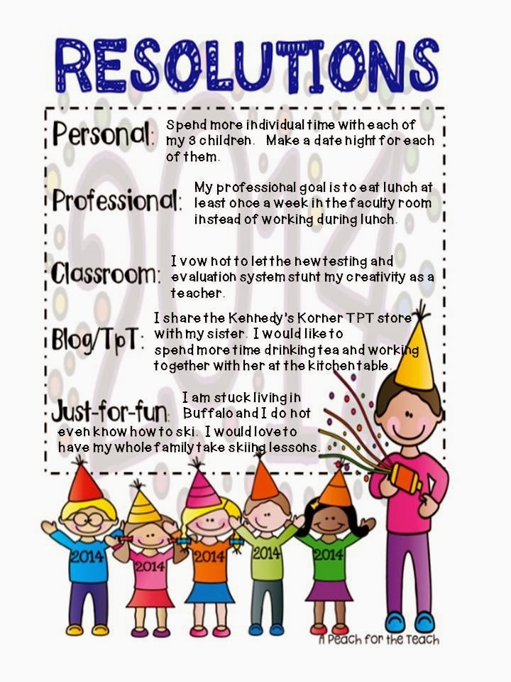 """essay on new year resolutions for kids New year's resolutions are often big announcements–such as losing  """"for  example, 'i'm doing it for my kids,' or 'this is to improve my overall."""